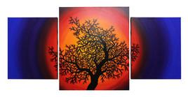 Silhouette d'arbre de vie