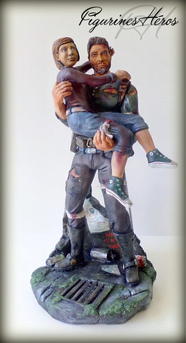 Figurine inspiré de the last of us