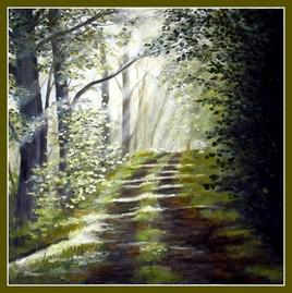 forêt mystère en cours de finition