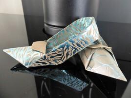 chaussures en origami