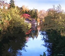 Canal au Theil sur Huisne