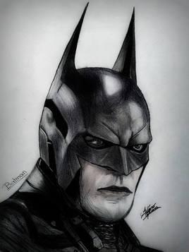 PORTRAIT SUPER HERO BATMAN 1