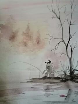 Le pêcheur d'eau