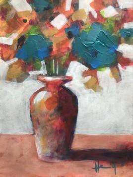 Bouquet de bleus-verts