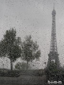jour de pluie a Paris