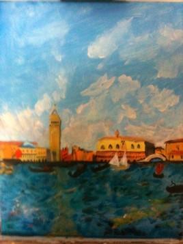 """Renoir - """"Le palais des Doges à Venise"""""""