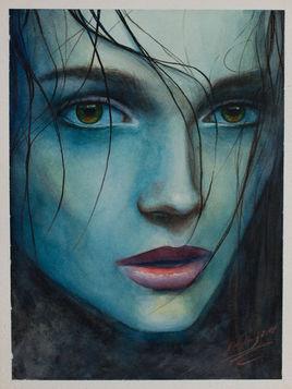 I feel blue de Denis PRENZEL