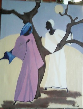 Scène de vie Africaine 3
