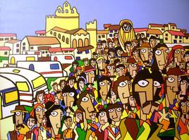 Saintes Maries de la mer : Procession de Sainte Sara