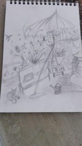 Au jardin