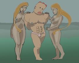 les deux grasses