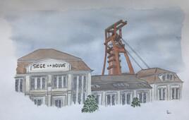 La dernière mine, le puits 4 de La Houve