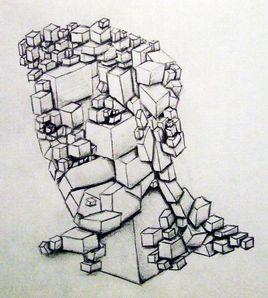 Tête de cube
