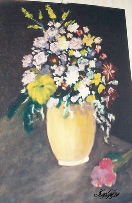 pot aux fleurs