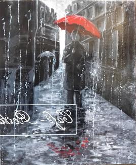 « Le Parapluie Rouge »