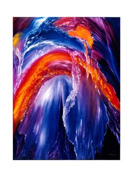 cascade volcannique