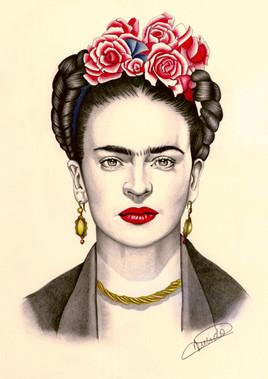 Portrait de Frida Kalho
