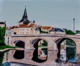 Pont de LA CELLE-DUNOISE (CREUSE)