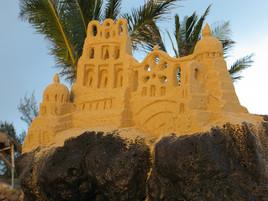 Châteaux sur sable