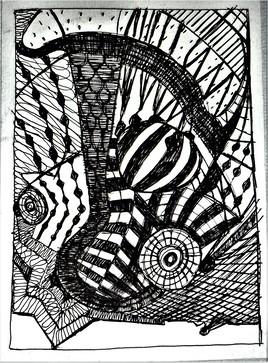 dessin 46 Caméléon
