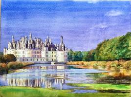 Château de Chambord. Châteaux de La Loire.