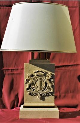 Lampe Blason