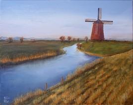 Moulin dans la campagne