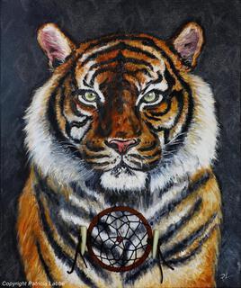 """Tigre dreamcatcher"""
