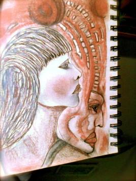 Peinture face femme homme