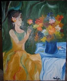 La jeune fille au vase