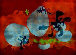 Pixart 64 - Création numérique abstraite sur papier photo