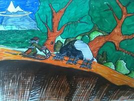 Radagast et ses lièvres