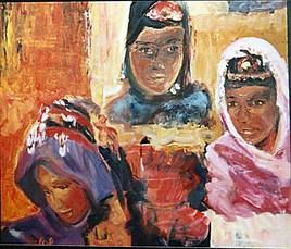 Femmes berbères amazighes