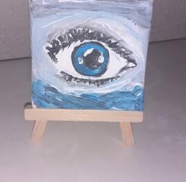 L'oeil dans l'eau
