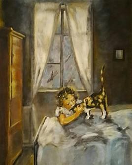 L'enfant et le chat