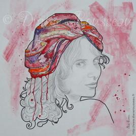 Le turban d'eau rouge
