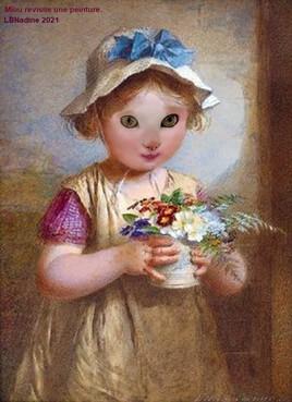 ma Miou revisite un tableau pour la fête des Mamans :)