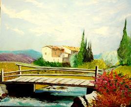 paysage provencal