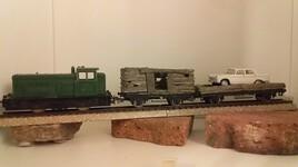 Deux Wagons en bois !