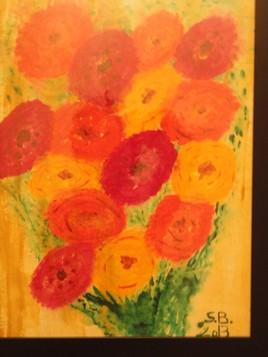 Bouquet jaune par S.B. - 2013