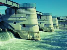le barrage de Chatou..