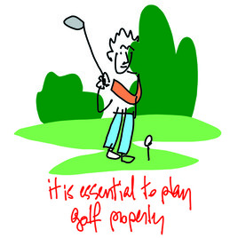 it is essential to play golf properly