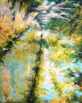 Peinture Reflet de Canal du Midi