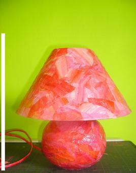 Customisation d'une lampe