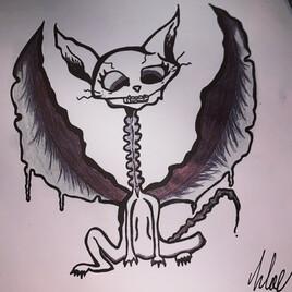 Squelettique Cat