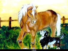 l' amour des chevaux
