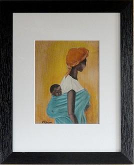 femme africaine et son enfant