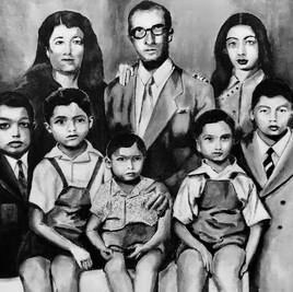 Famille orientale années 50