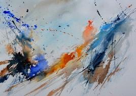 Aquarelle abstraite 2010