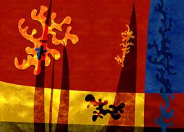 Pixart 68 - Création numérique abstraite sur papier photo